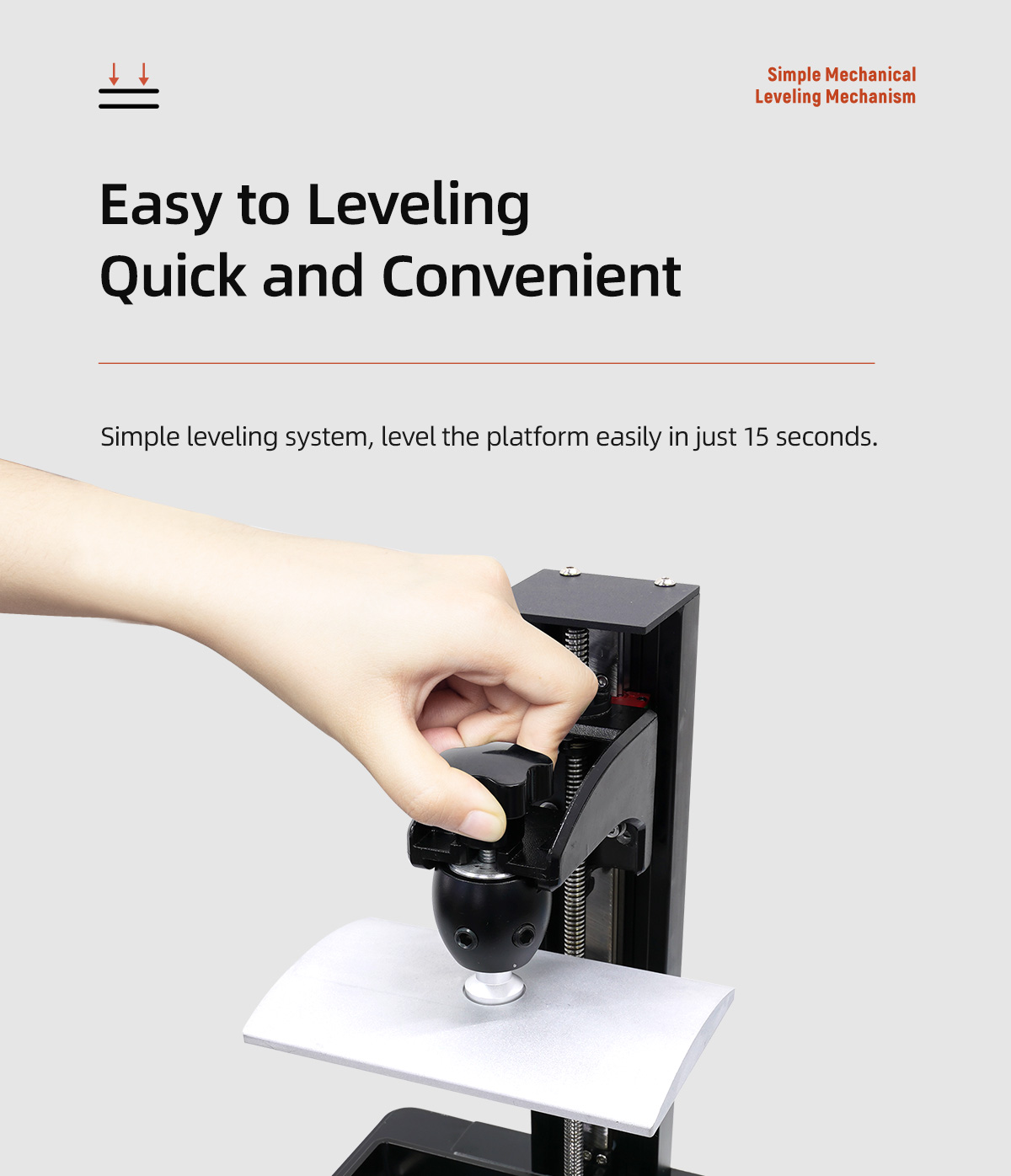 Easy to Leveling Quick and Convenient